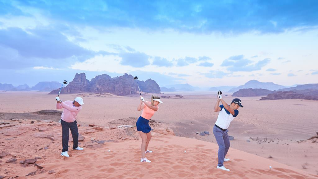 Three tours, three tees, one prize fund: Jordan's historic new format