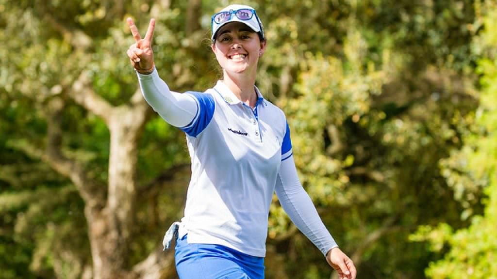 Iturrios ends title drought as Haglund shoots course record