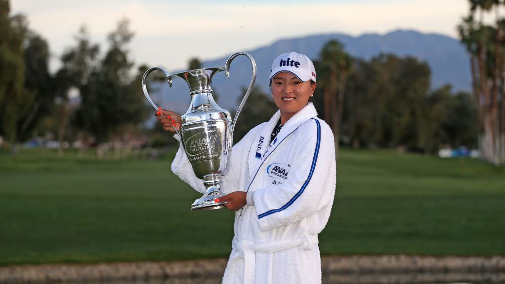Ko claims first major in historic week for women's golf