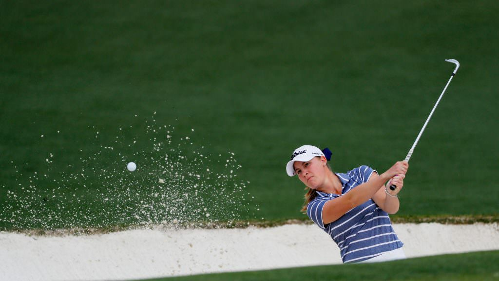 Kupcho becomes first woman to win at Augusta