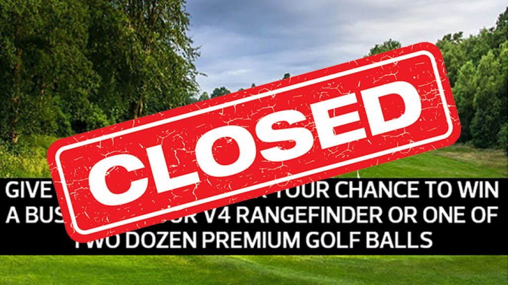 Give us your views to be in with a chance of winning a Bushnell rangefinder