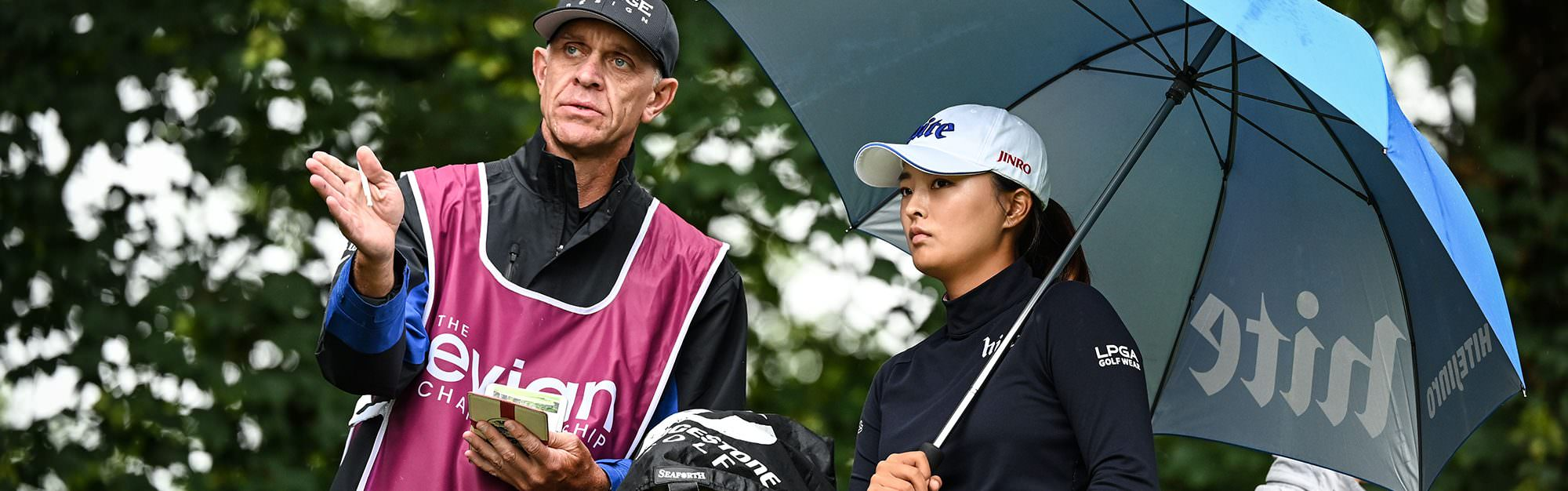 What clubs did Ko use to win the Evian Championship?