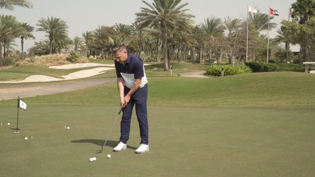 How to stop three putting