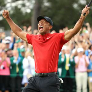 He's done it! Tiger wins fifth Masters in dramatic Augusta finale