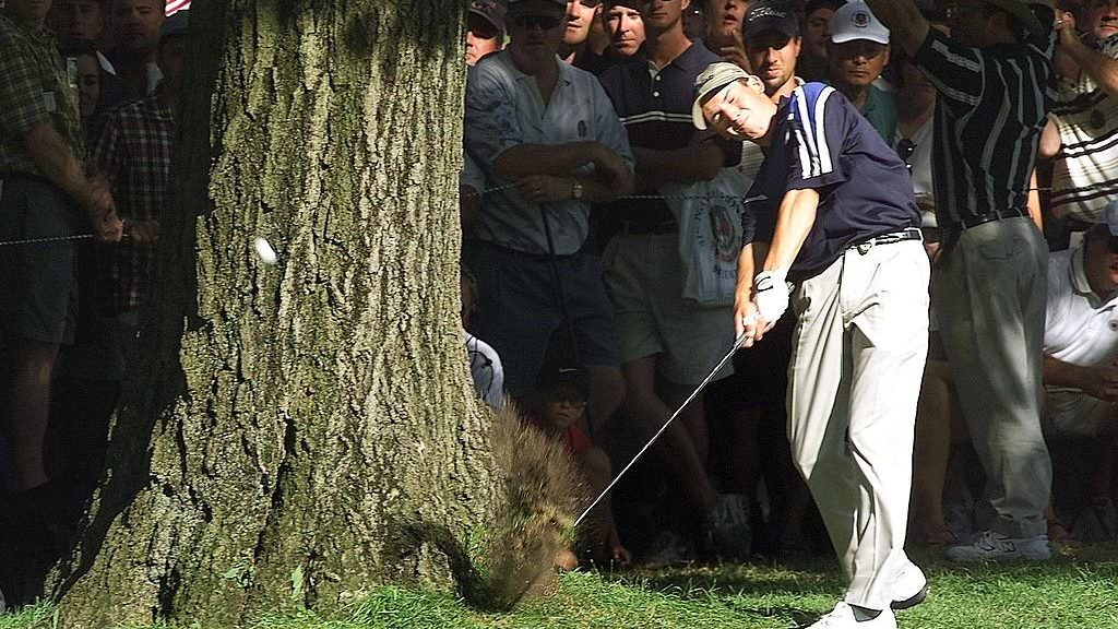 How a teenage Sergio almost took down Tiger