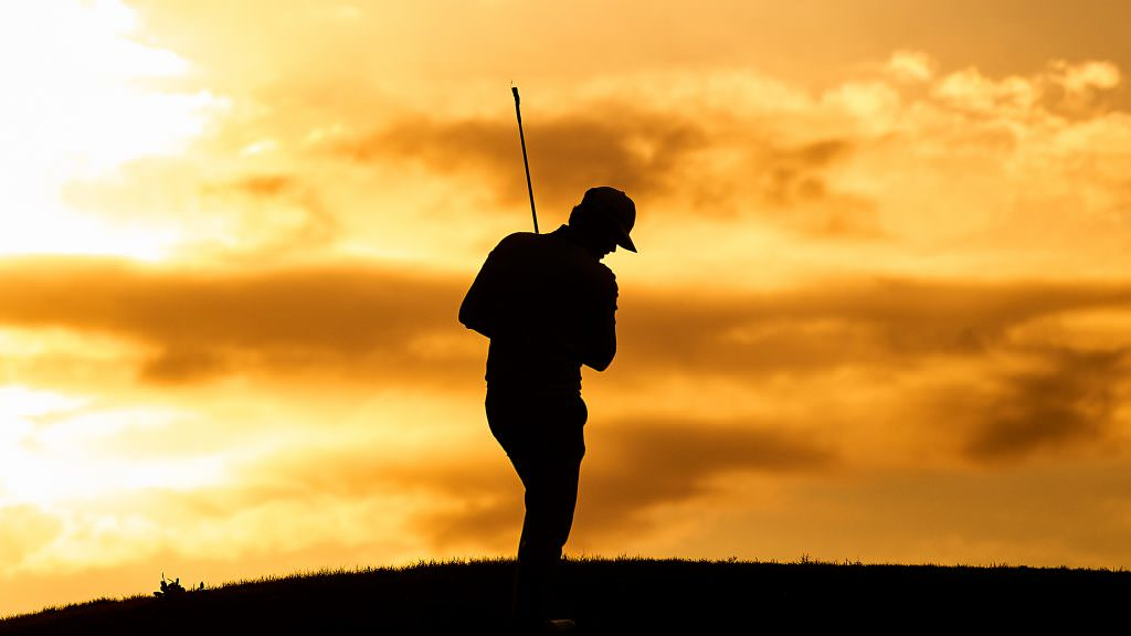 The descent into lunacy by playing too much golf alone