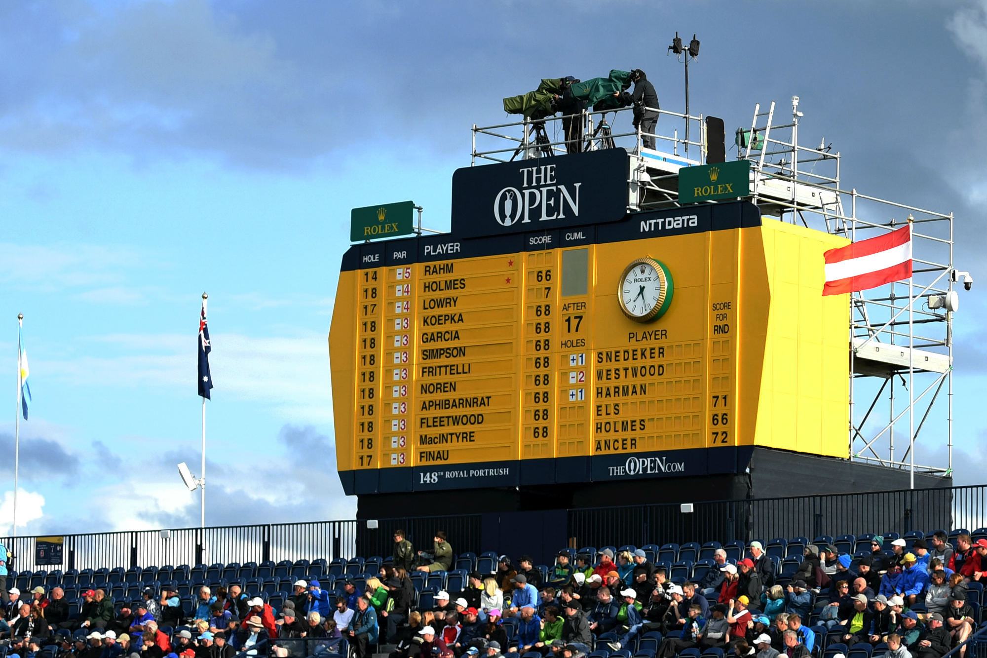 The Open Leaderboard 2019 | National Club Golfer