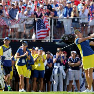 Win: A pair of tickets to the Solheim Cup
