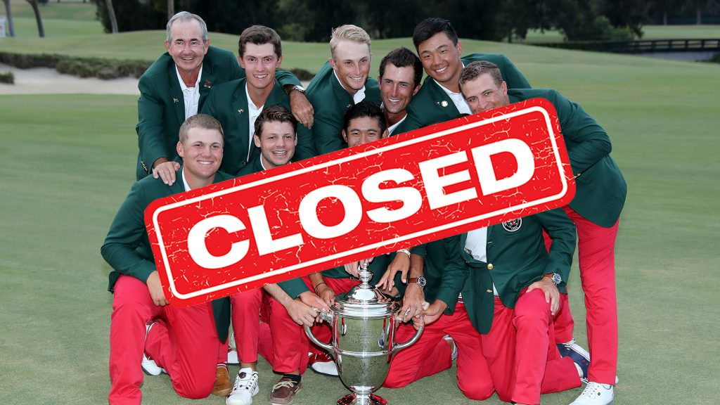 Win: Tickets to the Walker Cup