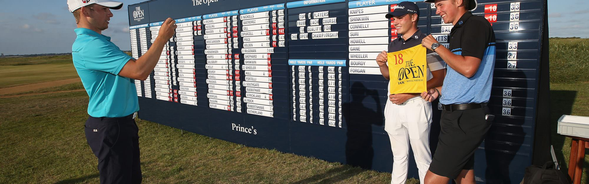 Three amateurs heading to Portrush after Final Qualifying