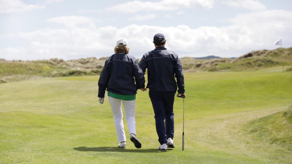 Meet the blind golfers battling it out in the Vision Cup
