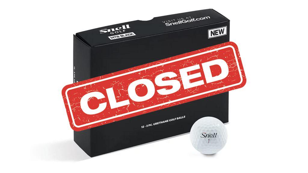 Win: A dozen Snell Golf balls