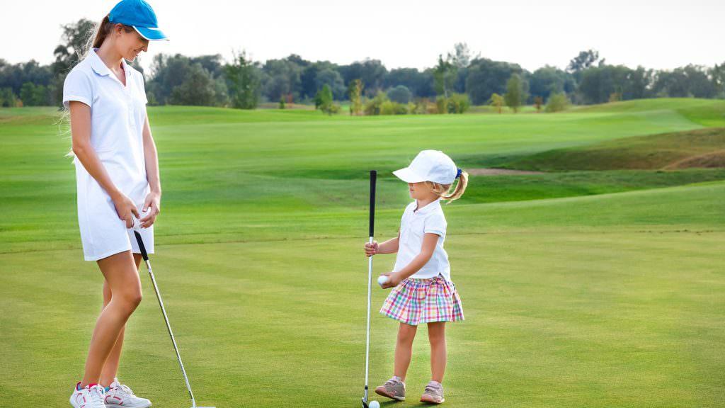 'We are trying to overcome the stigmas around women's golf'