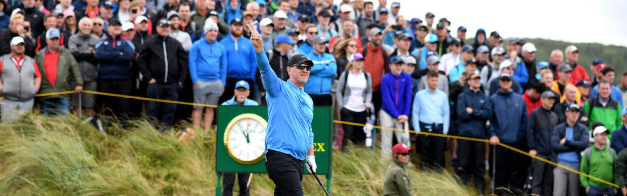 Should the Open old-timers be benched?