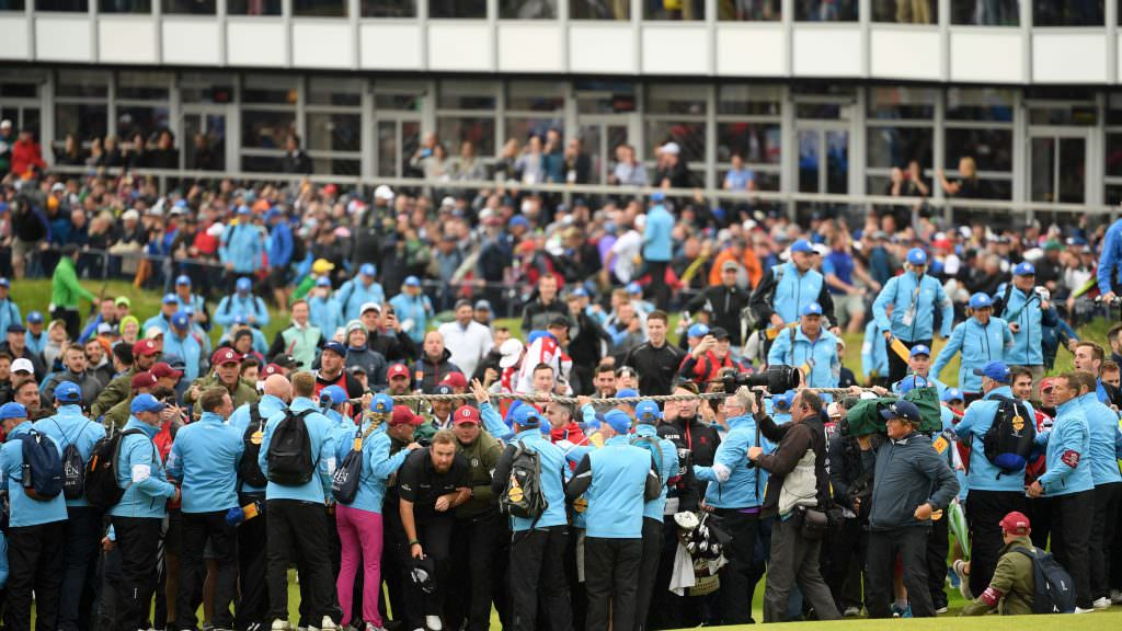 Tiger for a day: How the Portrush crowd roared Lowry to victory