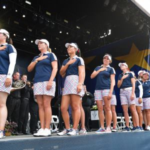Who is in the USA Solheim Cup team?
