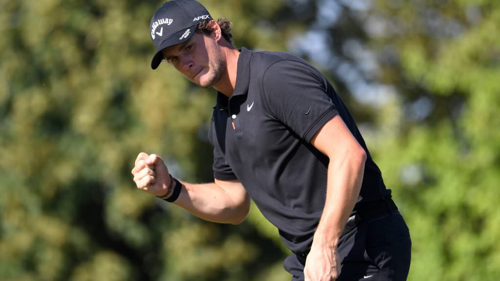 Pieters returns to winners' circle in Prague