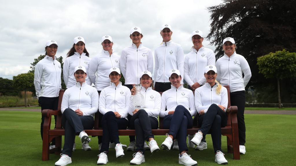 Who is in the European Solheim Cup team?