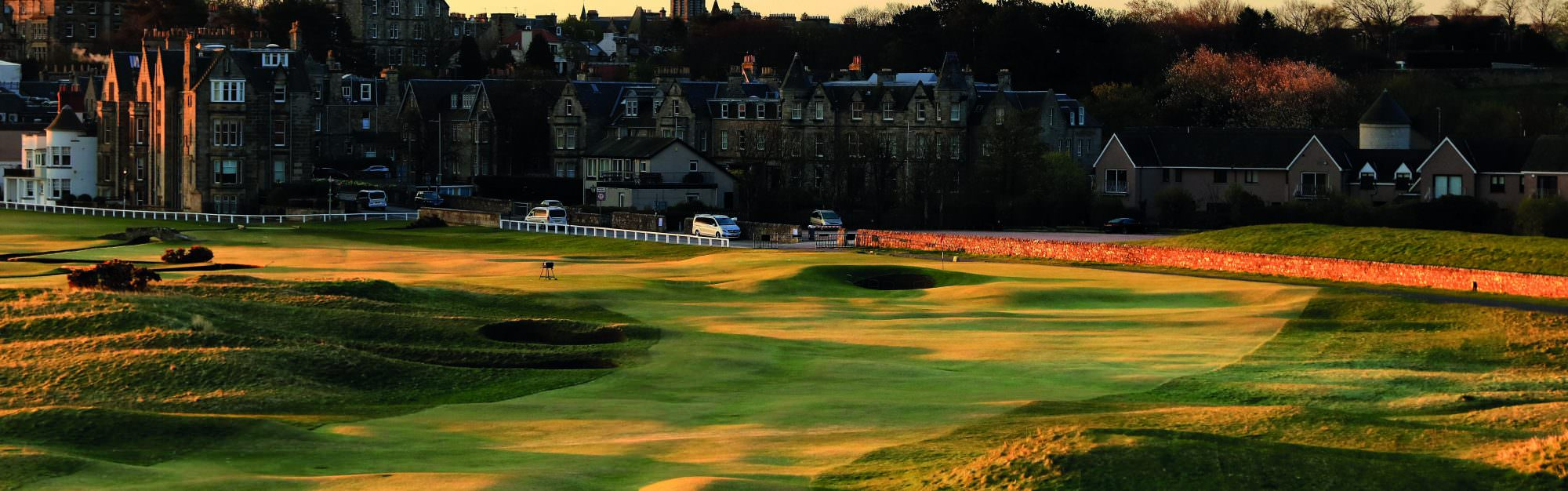 'The Old Course is even better backwards'