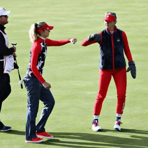 Korda sisters make Solheim Cup history – but they almost weren't paired together