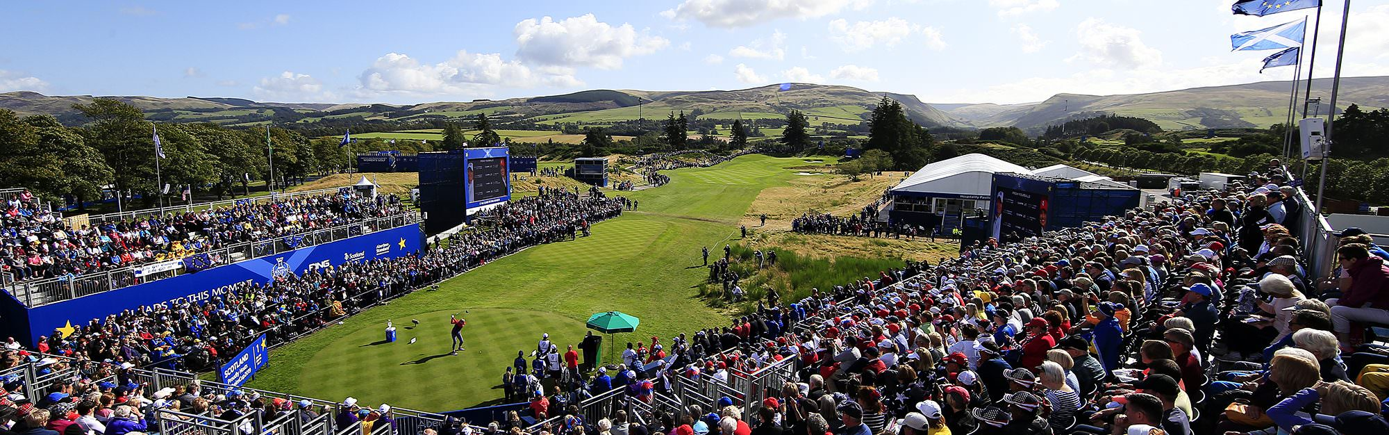 How does the Solheim Cup compare to the Ryder Cup at Gleneagles?