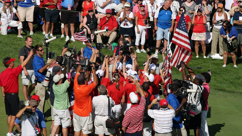 Solheim Cup TV coverage