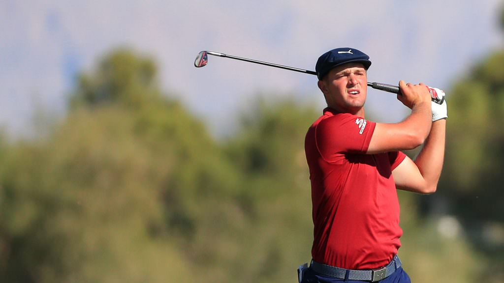 DeChambeau – who else? – puts graphite shafts in play