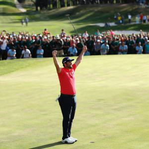 Rahm runs riot in Spanish title defence