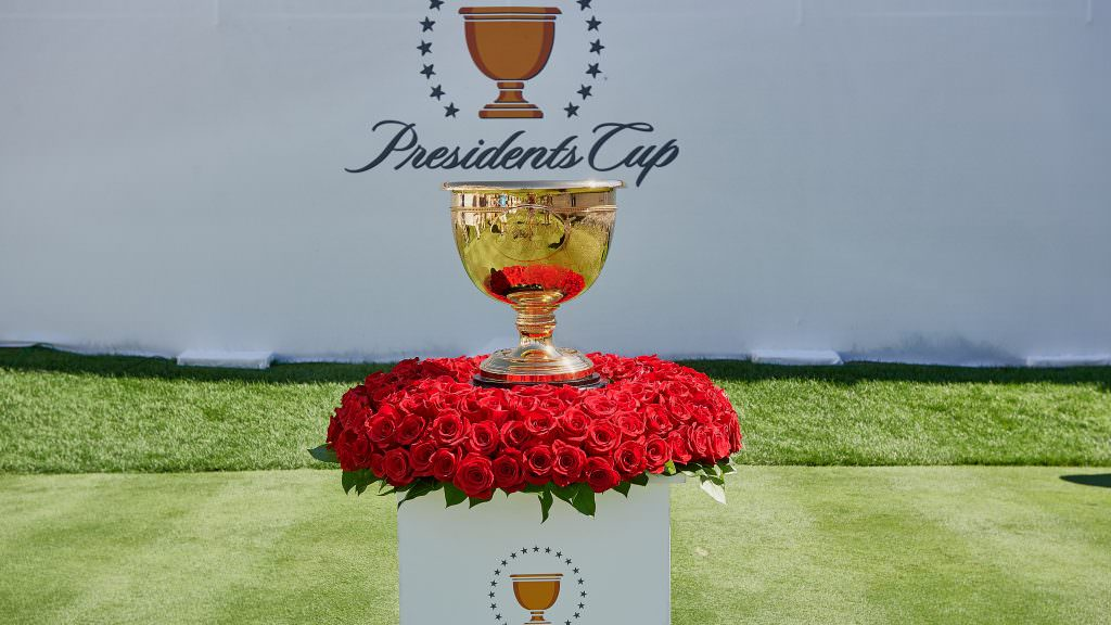 Who is on the International Presidents Cup team?