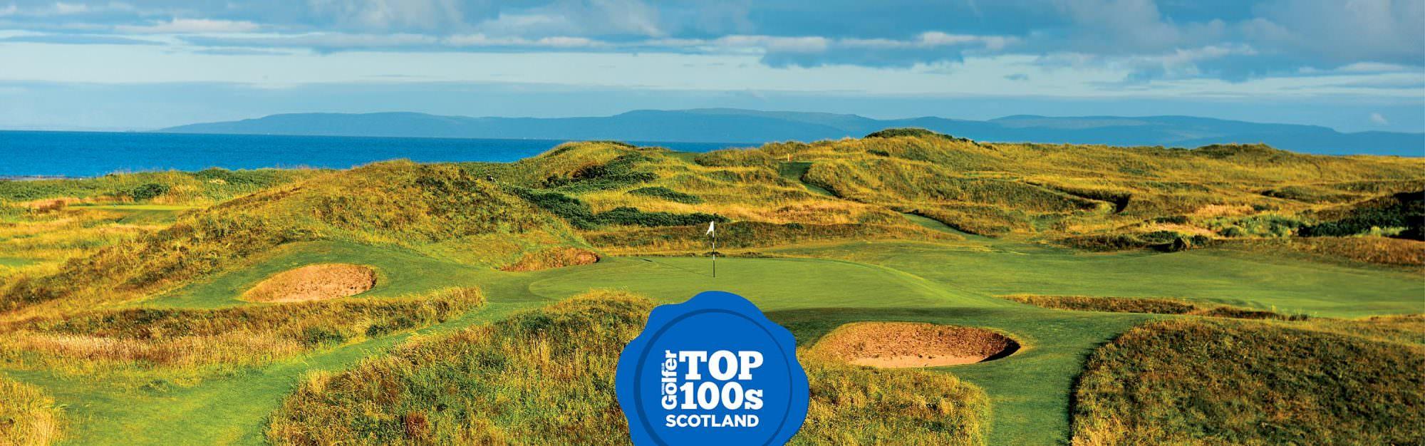 NCG's Top 100 Golf Courses in Scotland
