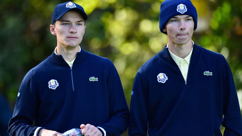 One half of Denmark's identical twins grabs European Tour card