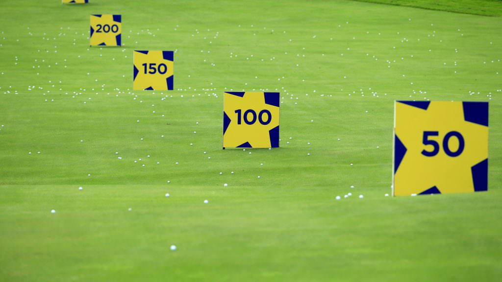 Improve your distance control with this practice ground pitching challenge