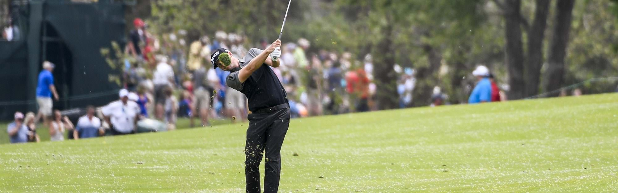 When should you be taking a divot?
