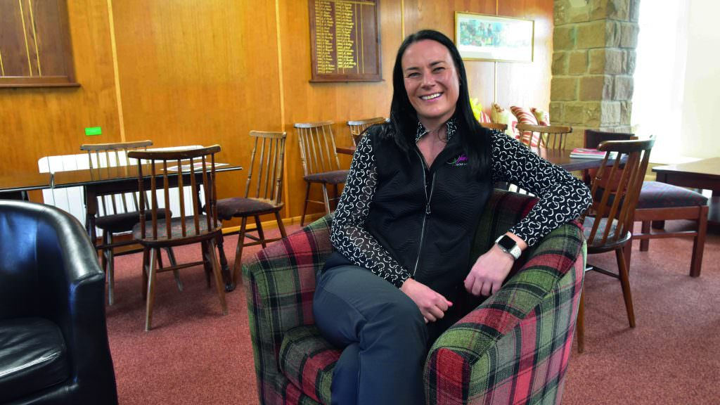 Meet the woman tearing up the golf club rule book