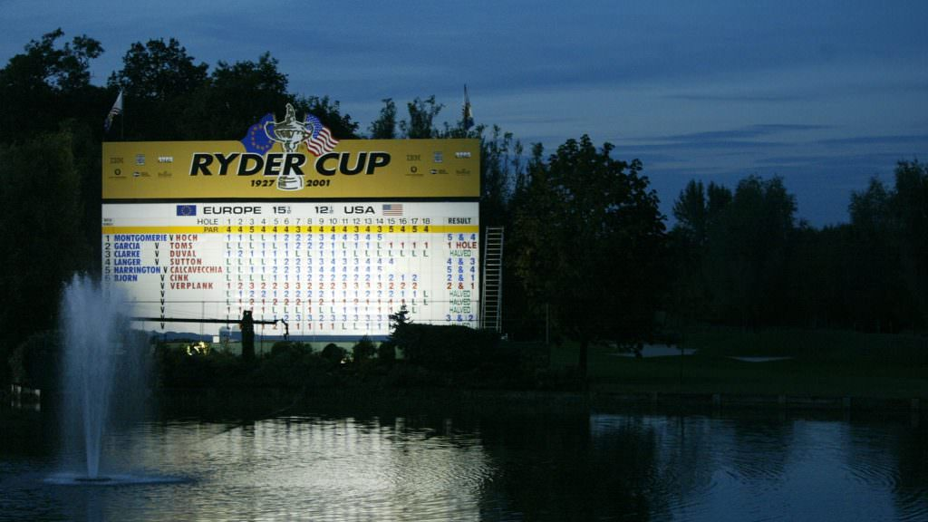 Ryder Cup all-time top points scorers: Team Europe