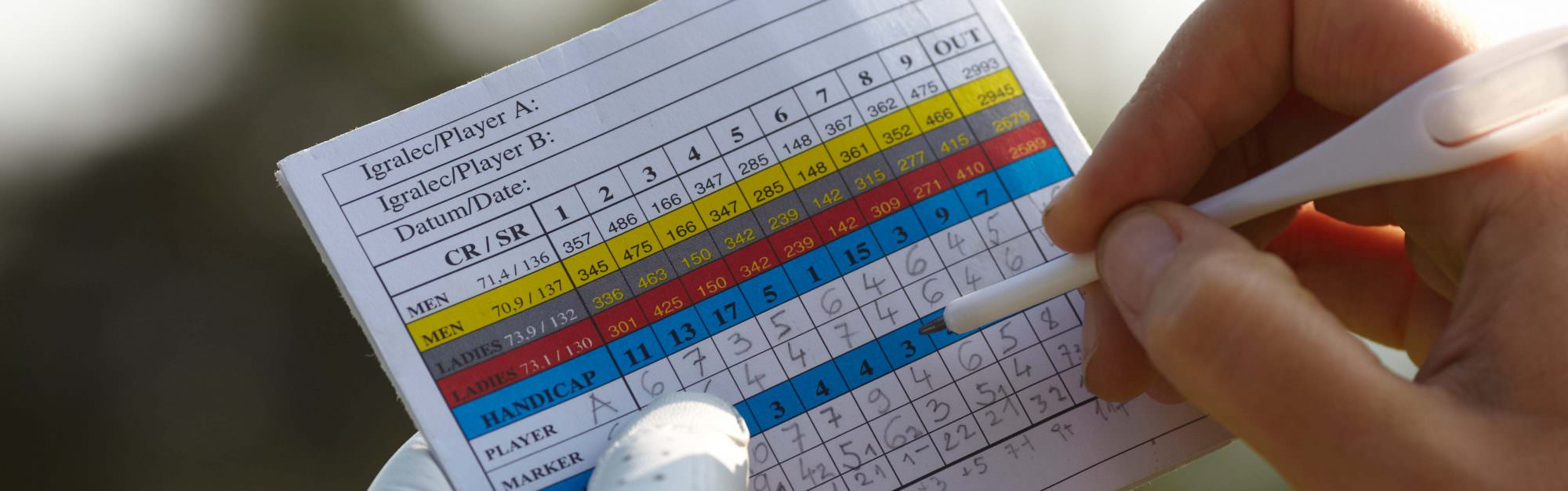 How does your handicap change from course to course under the World Handicap System?