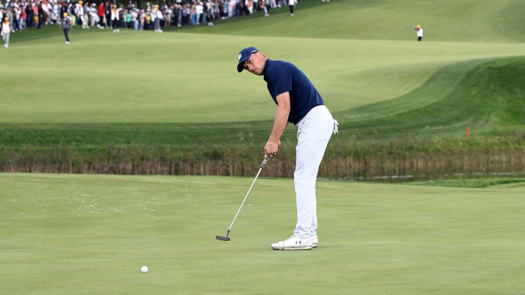 Make life easier on the greens with this pace putting drill