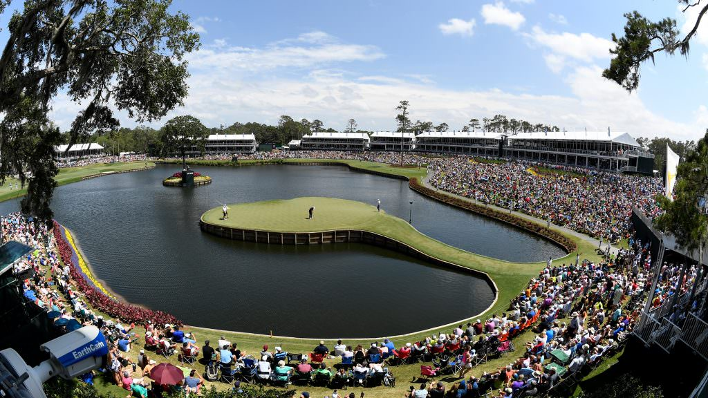 How do you come to take an unplayable at the 17th?