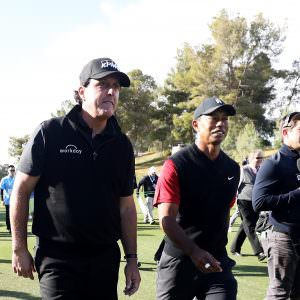 Mickelson hints at mouth-watering Tiger rematch