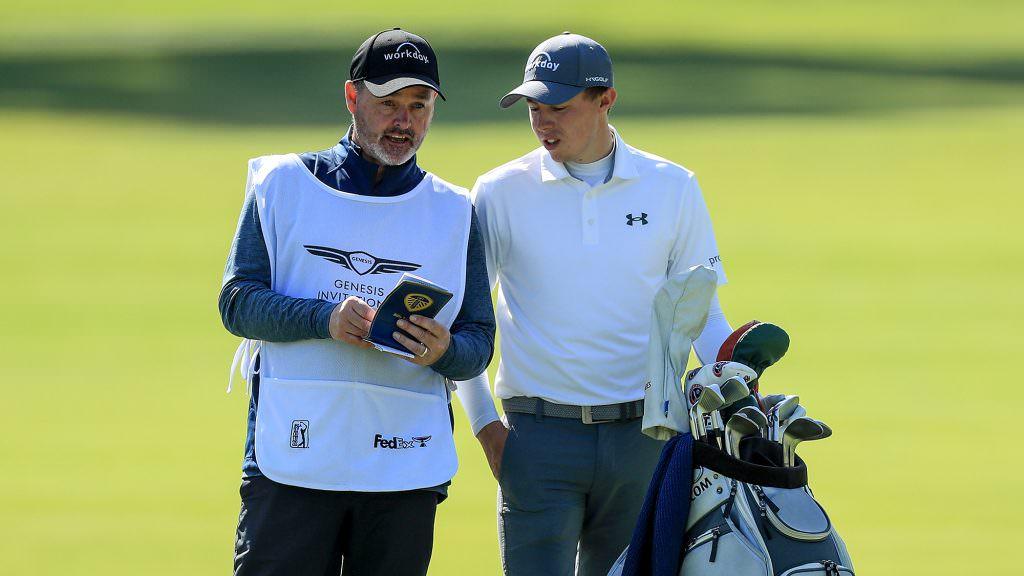 What's in Matt Fitzpatrick's bag?