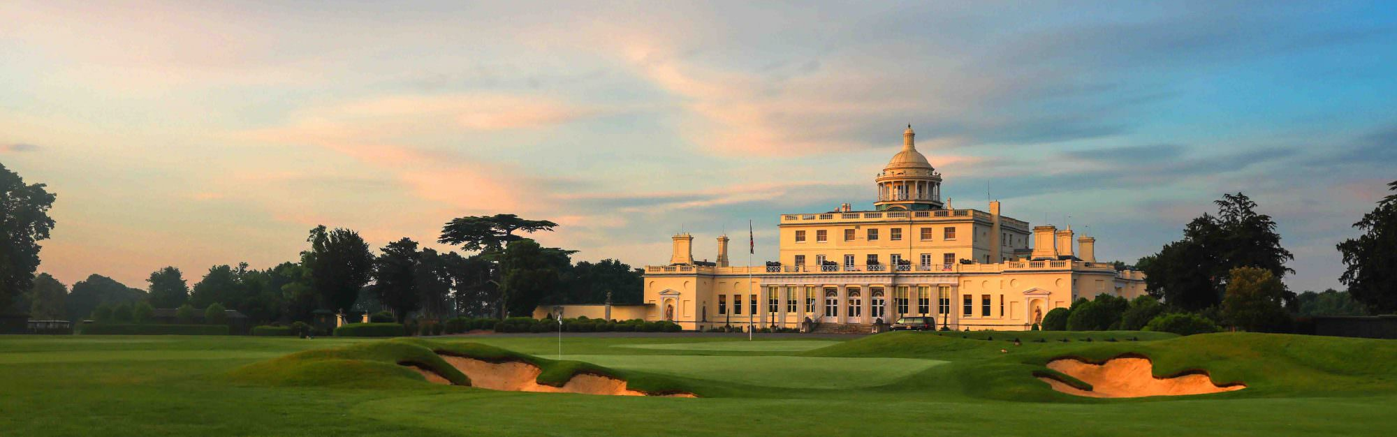 Sand wedge or spade? Why Stoke Park loves its bunkers