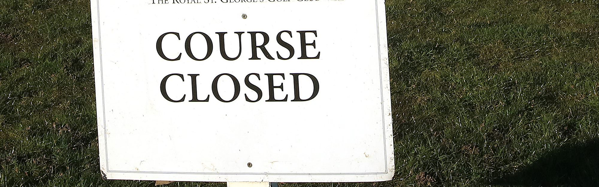 Here we go again! Golf courses in England told to close for third lockdown