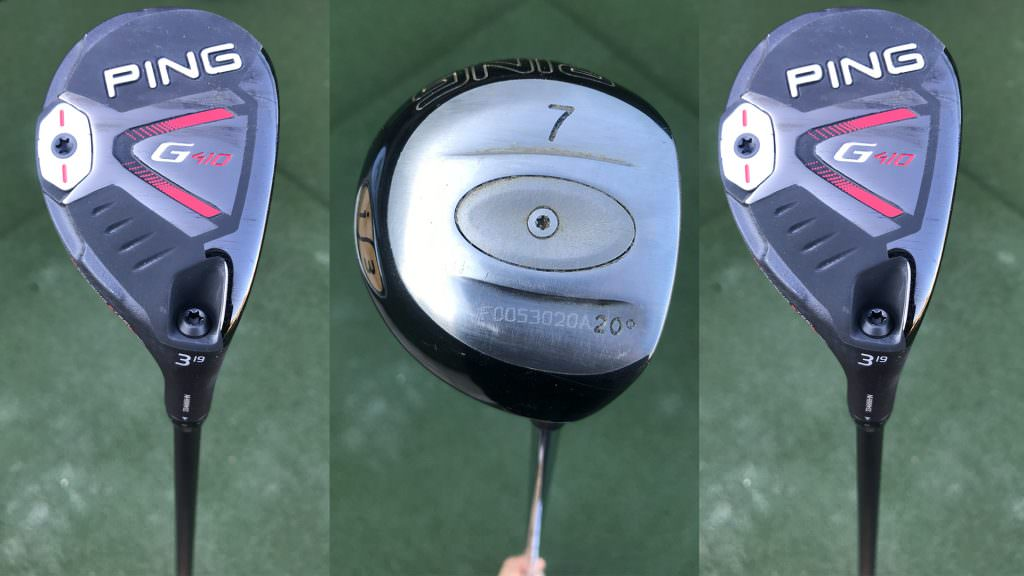 Old vs new! We put the Ping i3 7-wood up against the G410 hybrid