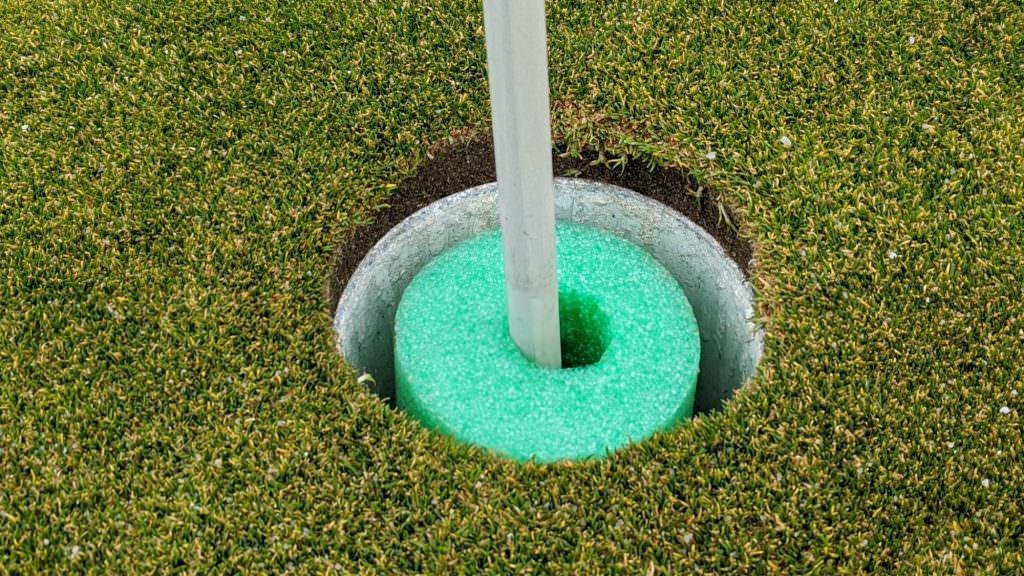 Rules of Golf explained: My golf ball hit the foam insert and bounced out – does it count?
