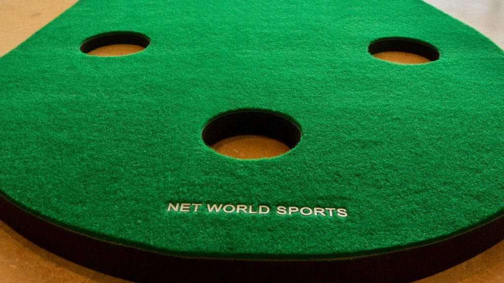 WIN: A Net World Sports putting mat and chipping net