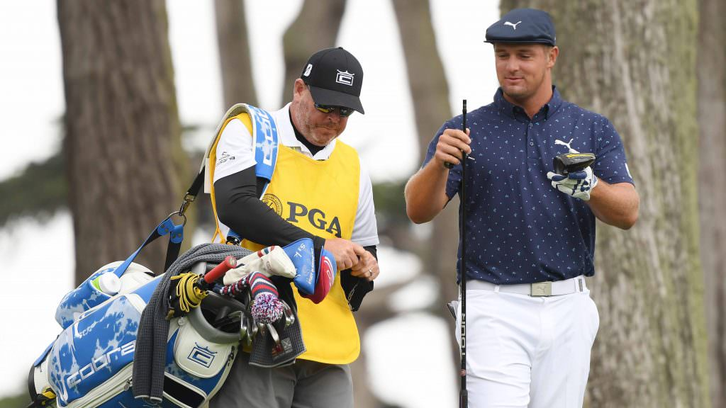 Why was DeChambeau allowed to replace his broken driver at the PGA Championship?