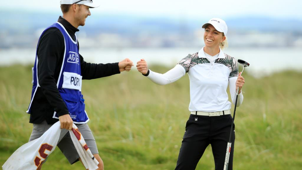 AIG Women's Open leaderboard and highlights