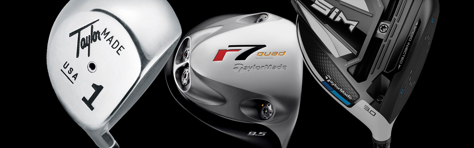 From the Original One to the SIM: We hit six decades of TaylorMade drivers
