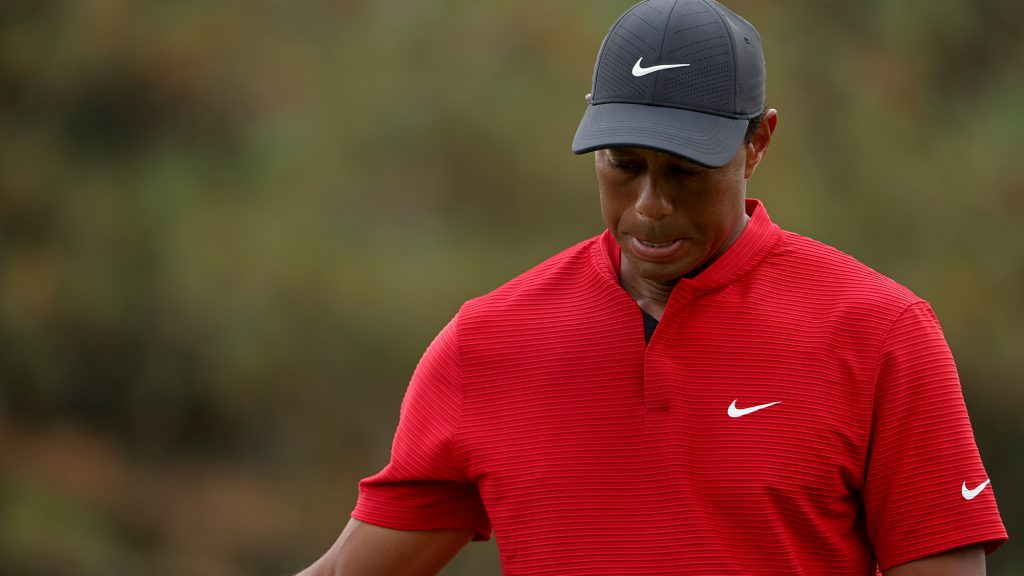 Was Tiger's incredible finish after his Augusta meltdown simply because he gave up?
