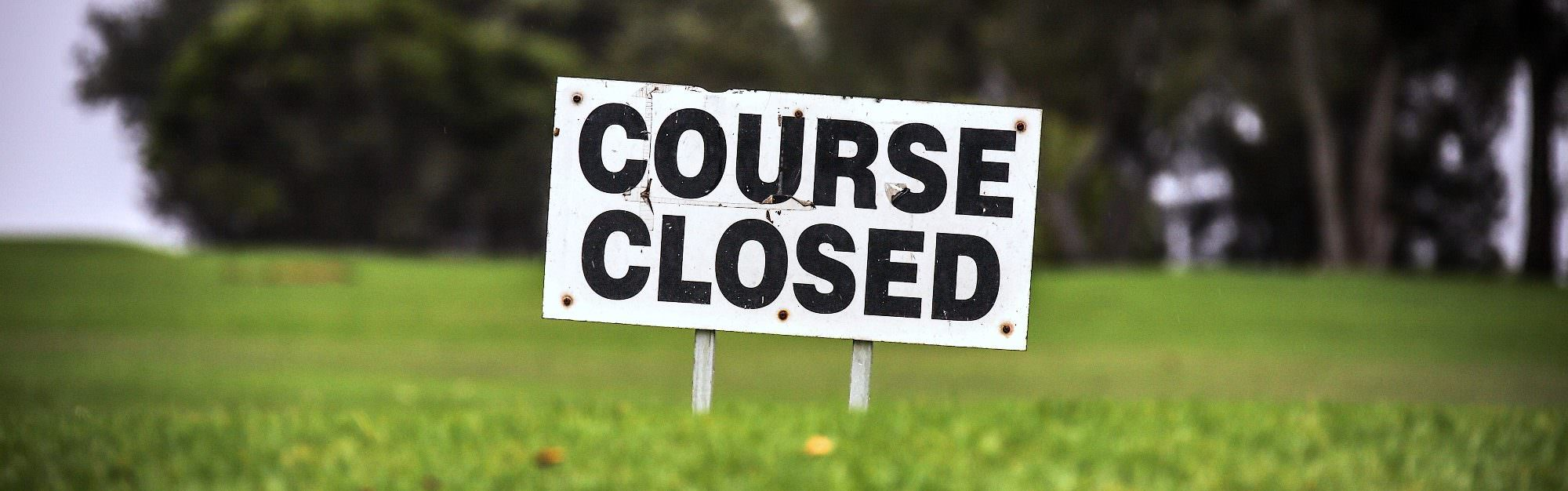 Course closed – now what are you going to do?